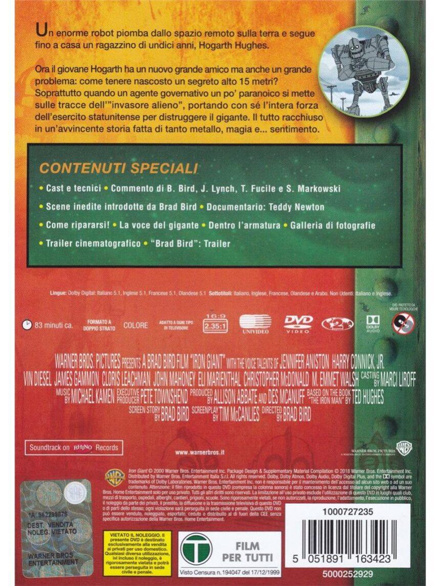 Dvd o gigante de ferro - Video Delta