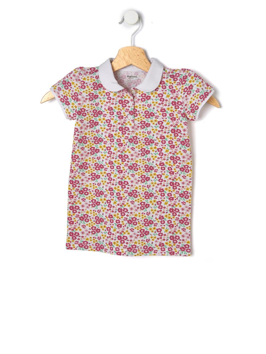 Camisa pólo estampada fantasia - Prénatal