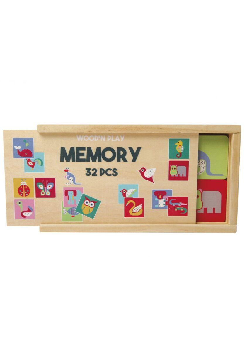 Wood'n play - memória gioco - Wood'N'Play
