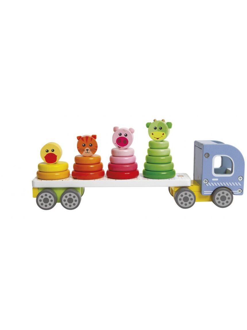 Wood'n play - caminhão de bombeiros camion - Wood'N'Play