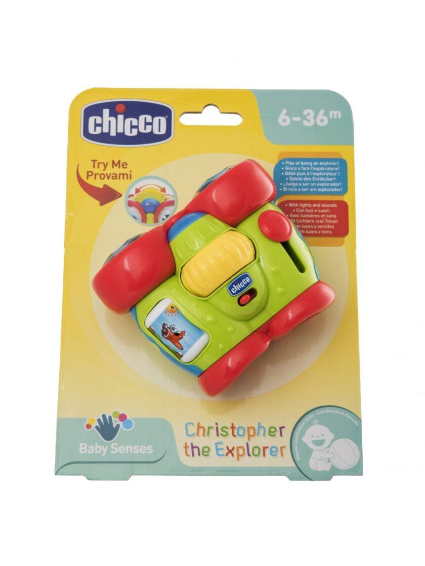 Chicco - primeiro jogo cristoforo os binóculos - Chicco