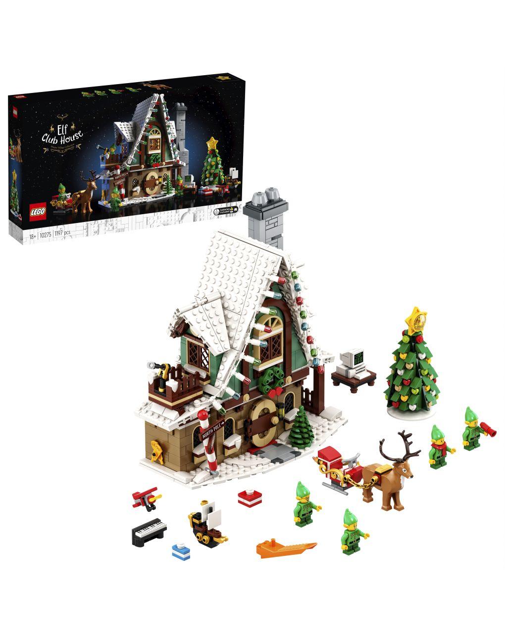 ícones de lego - casa dos elfos - 10275 - LEGO