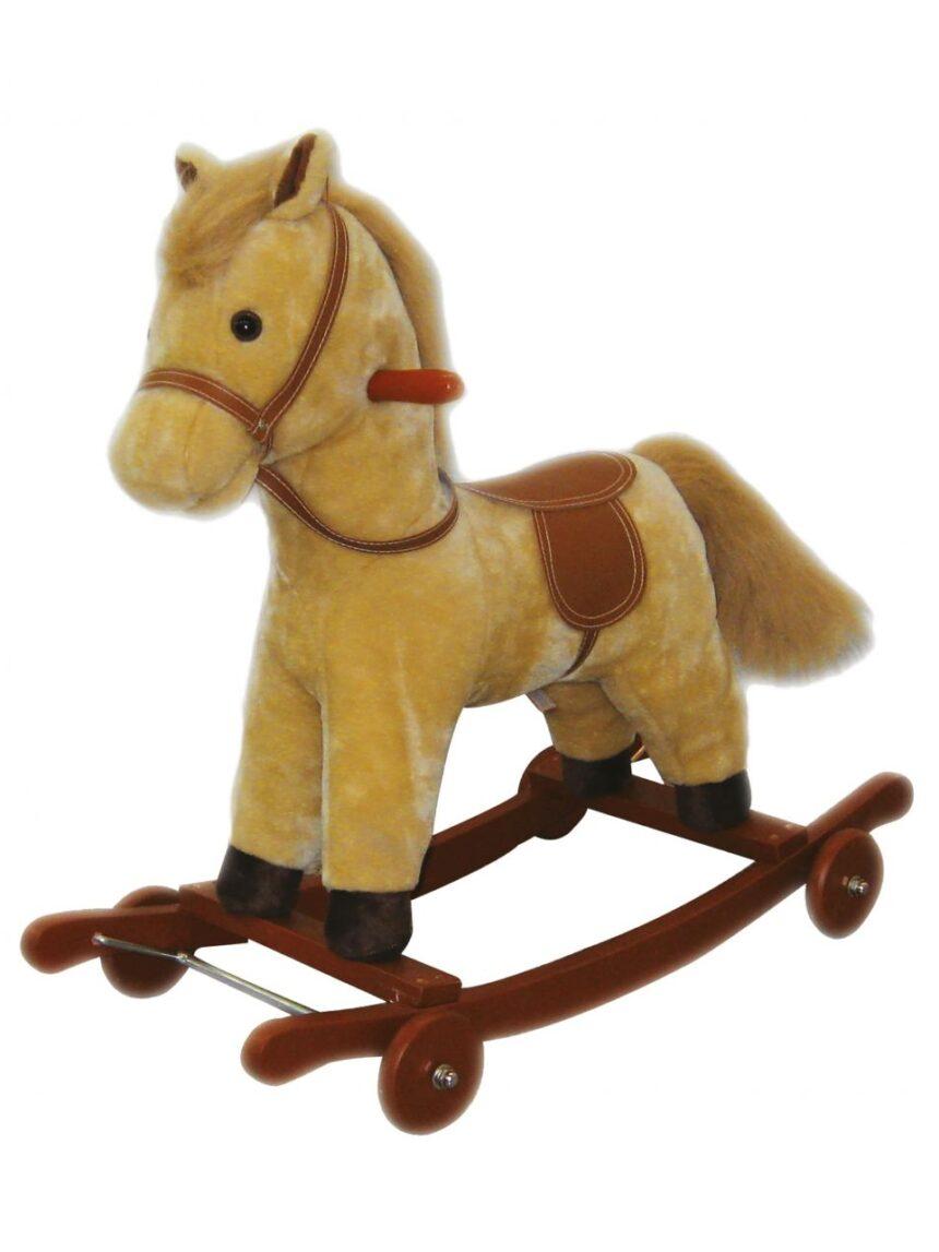 Pelúcia ami - cavalo de balanço com sons - Ami Plush