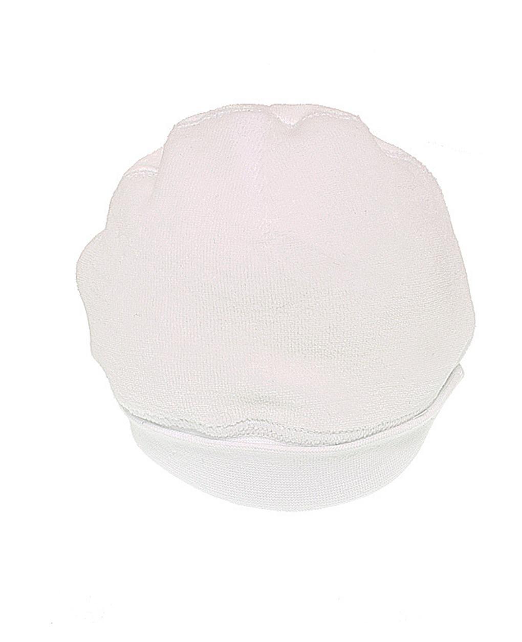 Boné de chenille branco - Prénatal