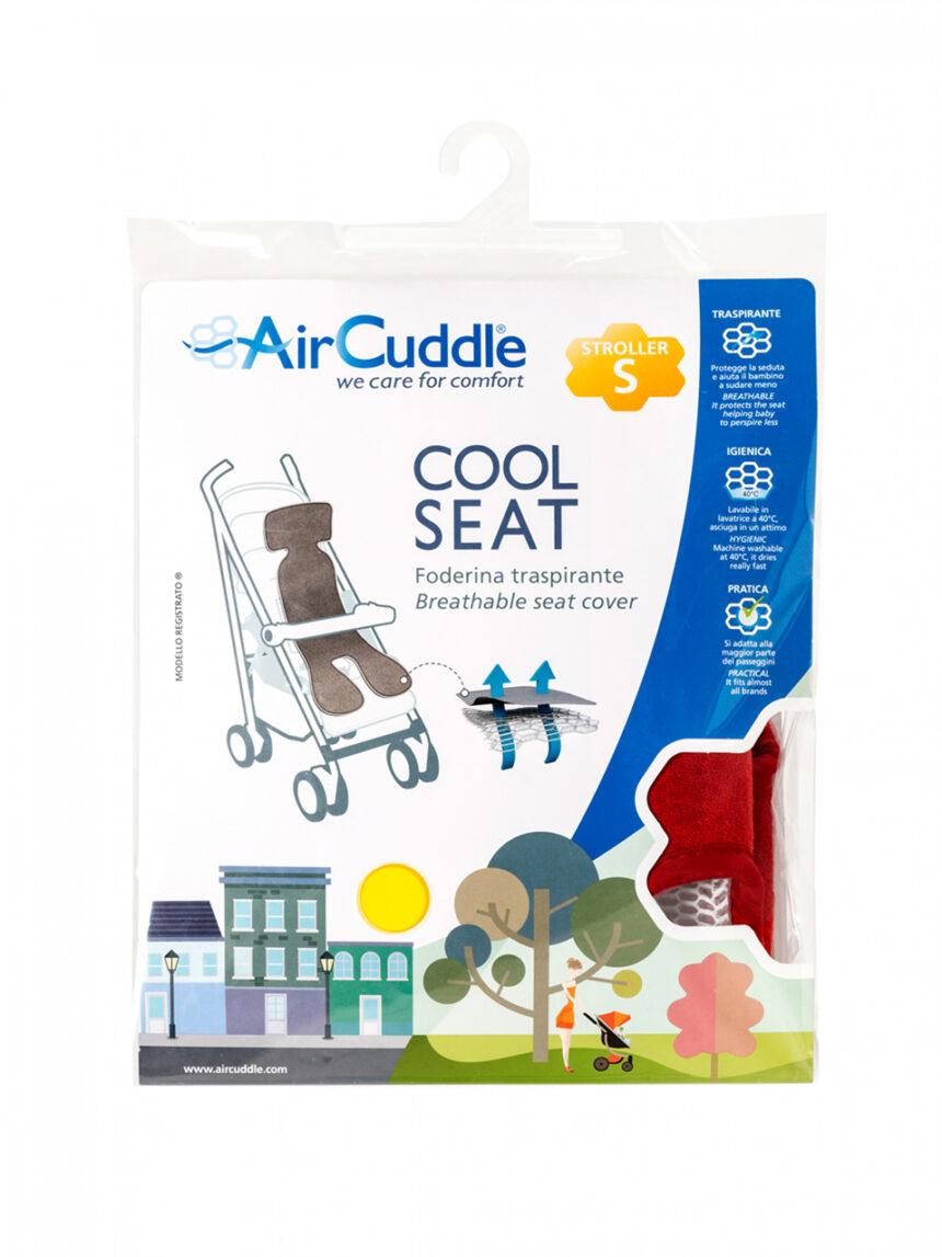 Capa de aircuddle do assento legal para carrinho cinza - AirCuddle