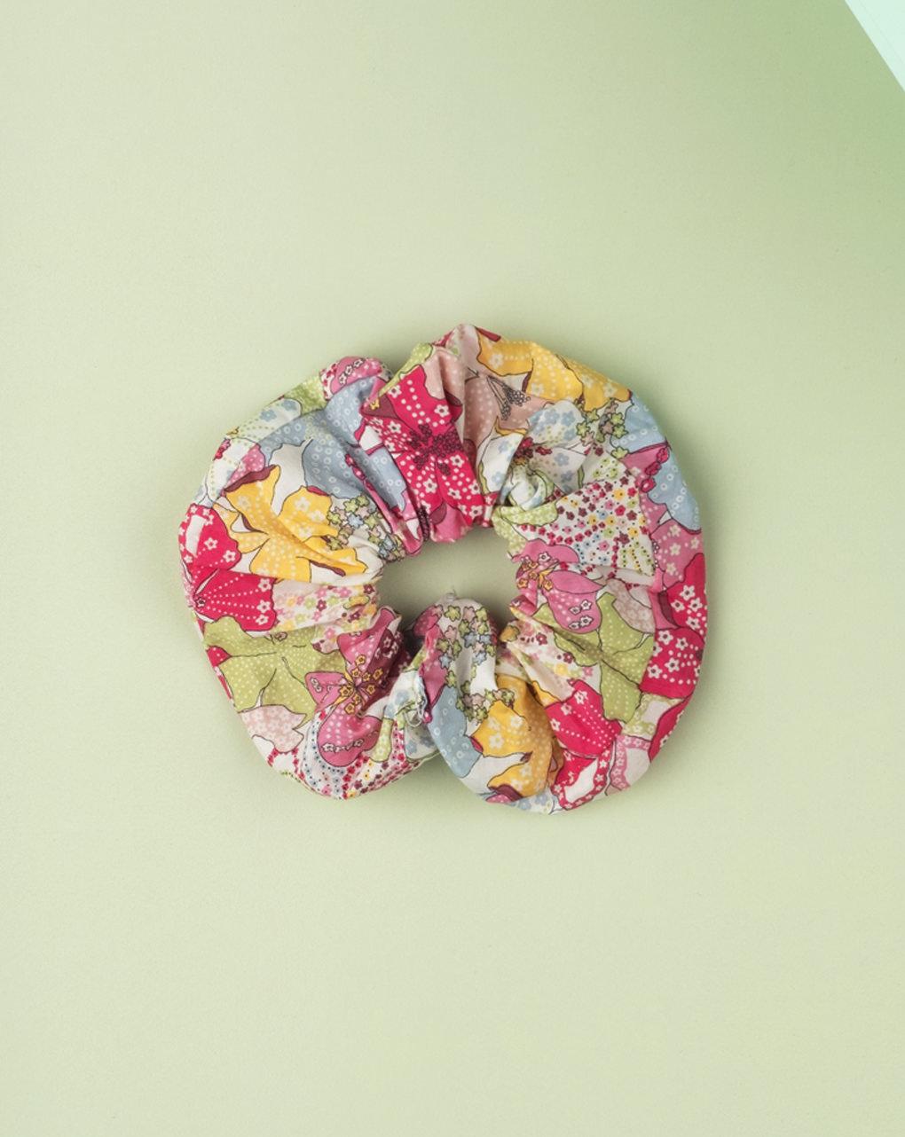 Elástico de cabelo em tecido liberty - Prénatal