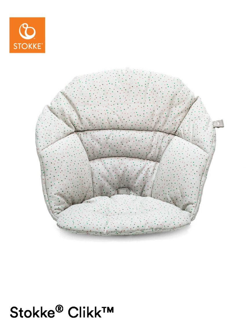 Estoque clica almofada ush - granulado cinza - Stokke