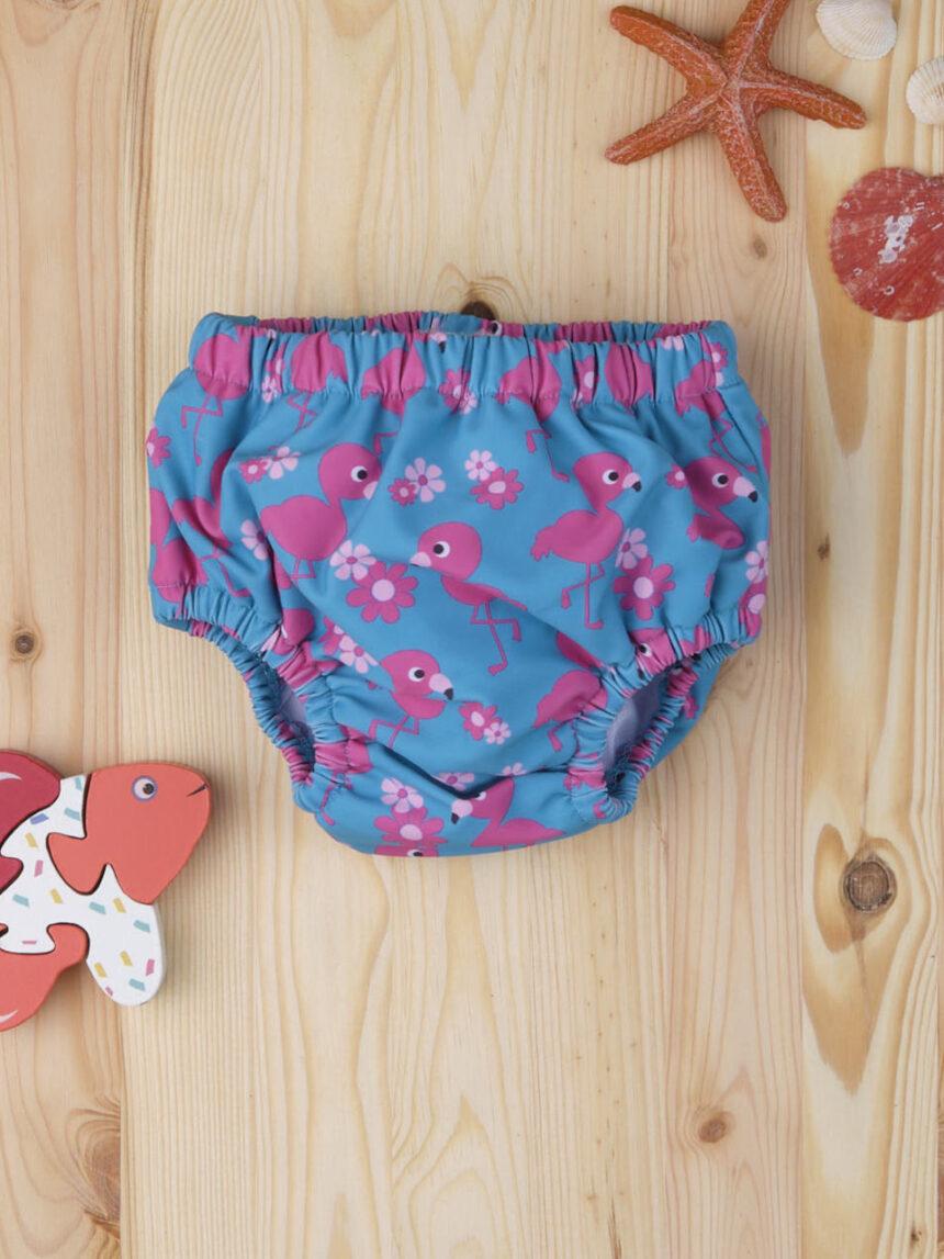 """Capa de fralda de bebê """"flamingos"""" - Prénatal"""