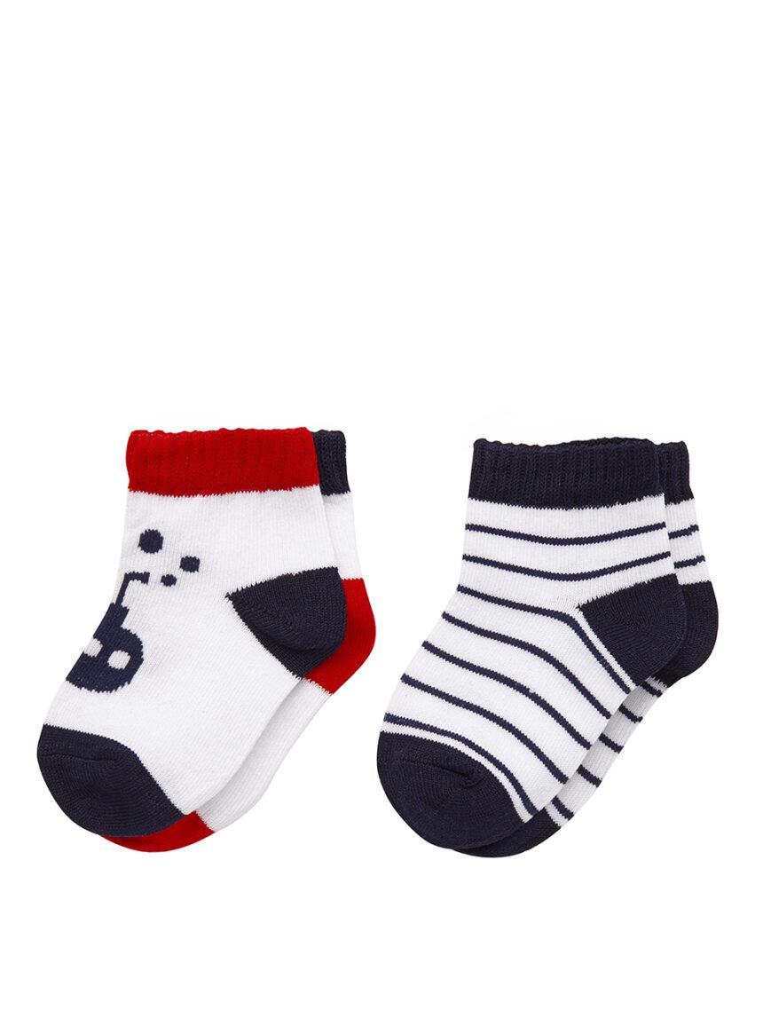 Pacote de 2 pares de meias - Prénatal
