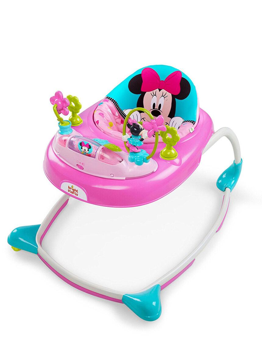 Andador de bebê minnie estrelas e sorrisos - Disney