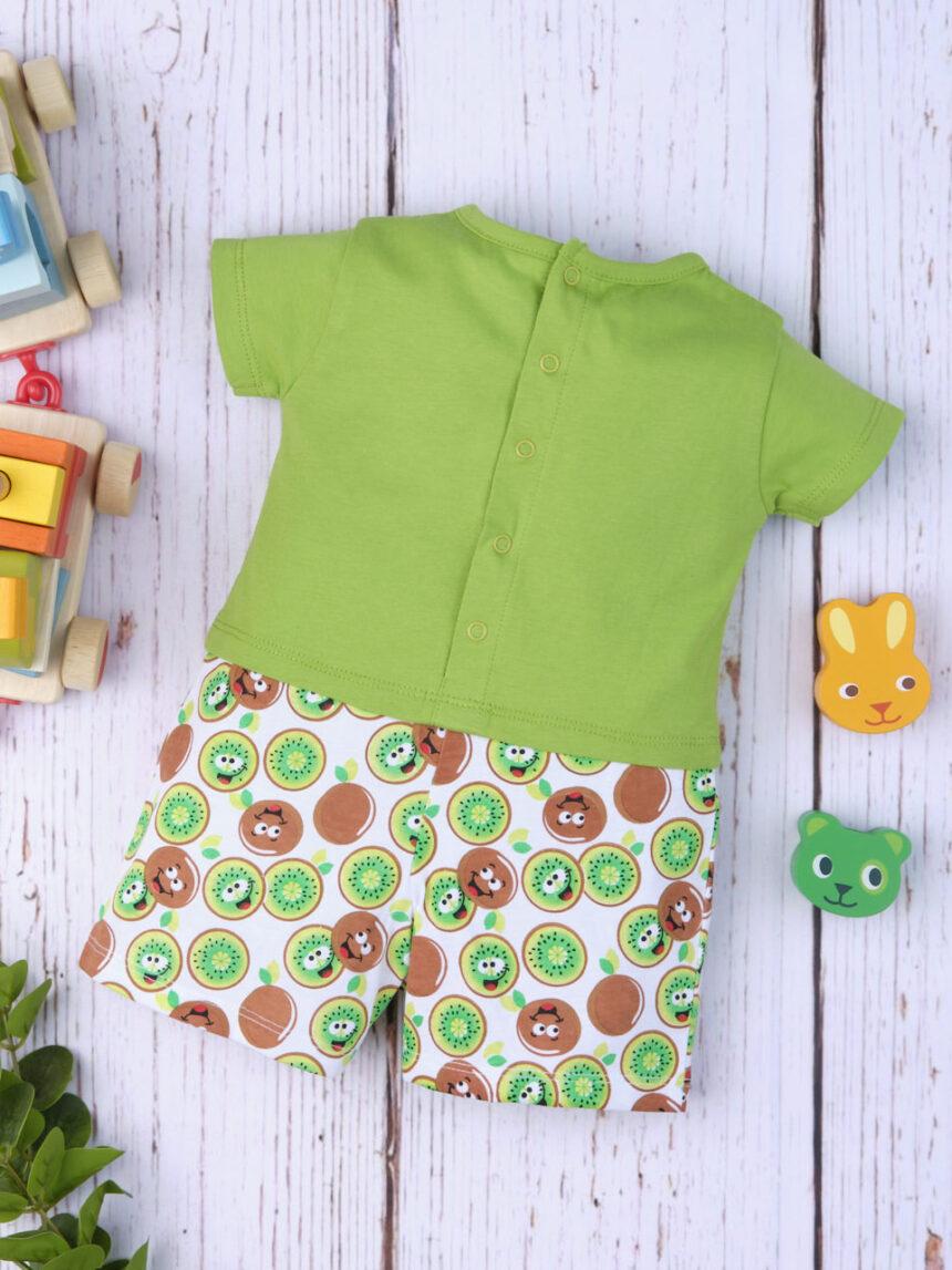 """Macacão de bebê """"kiwi"""" - Prénatal"""