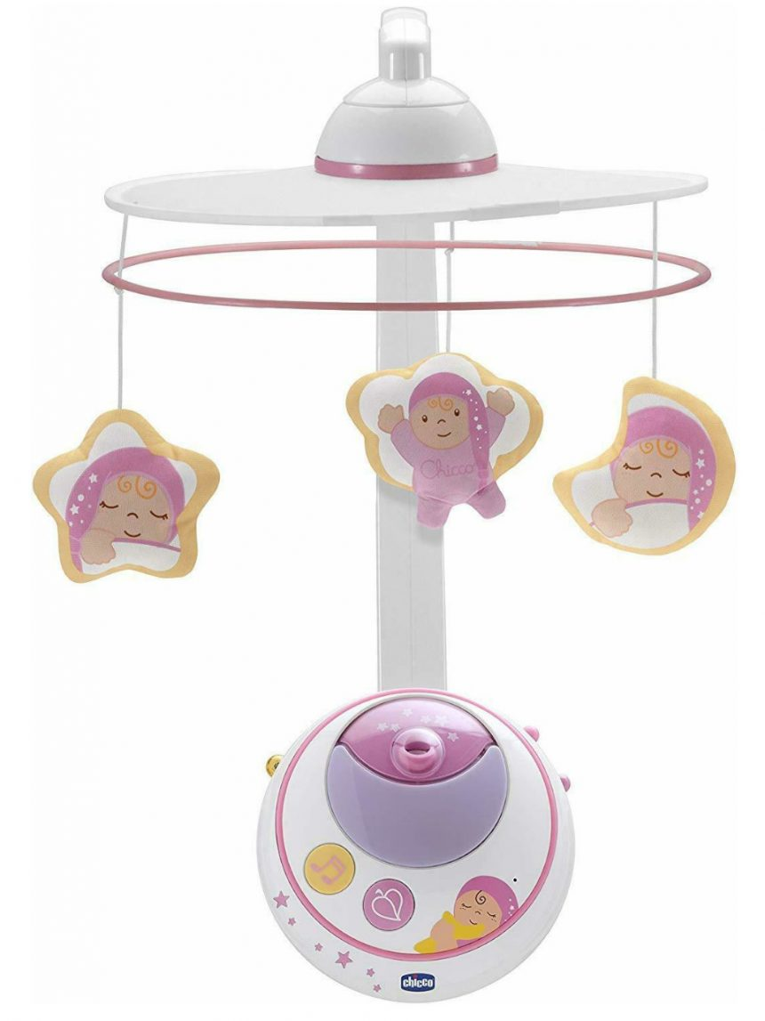 Chicco - celular mágico com estrelas rosa - Chicco