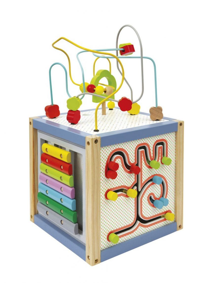 Wood'n play - cubo multiattività - Wood'N'Play