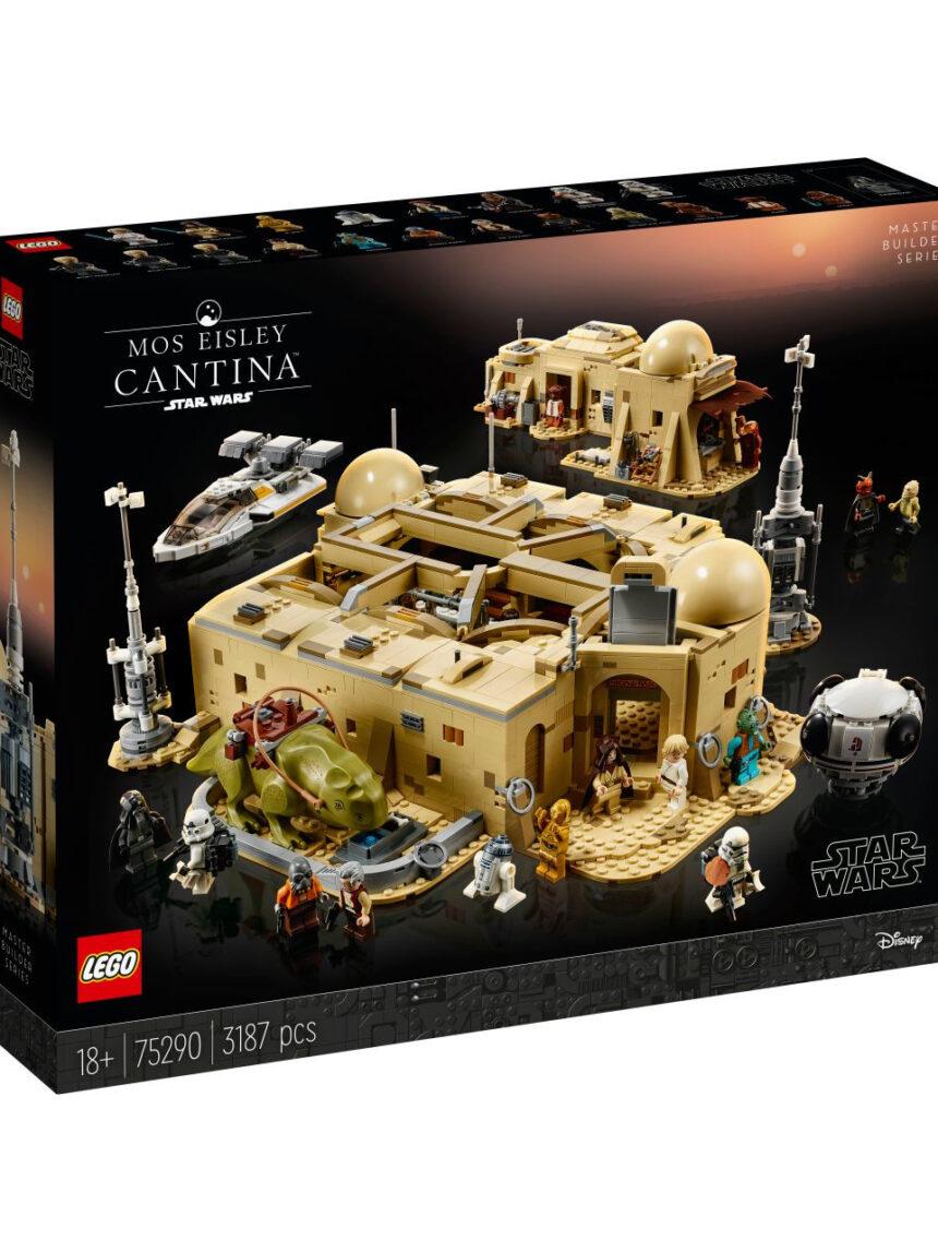 Guerra nas estrelas de lego tm - taverna mos eisley ™ - 75290 - LEGO