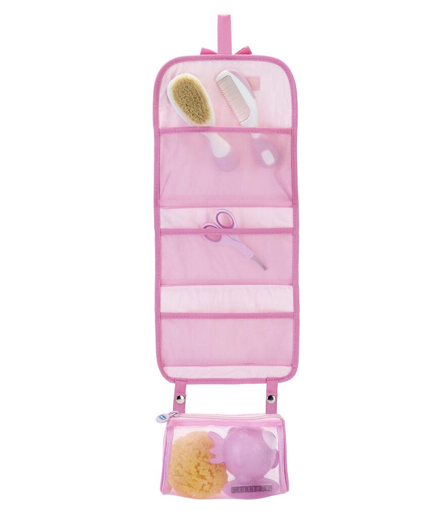 Conjunto de higiene segura rosa 0m + - Chicco