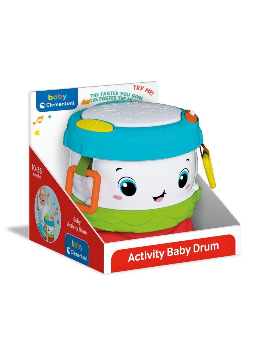 Babyclementoni - atividade de tambor de bebê - Baby Clementoni