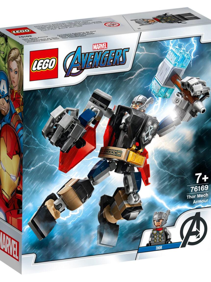 Eu li sobre heróis - os deuses com armas mecânicas thor - 76169 - LEGO