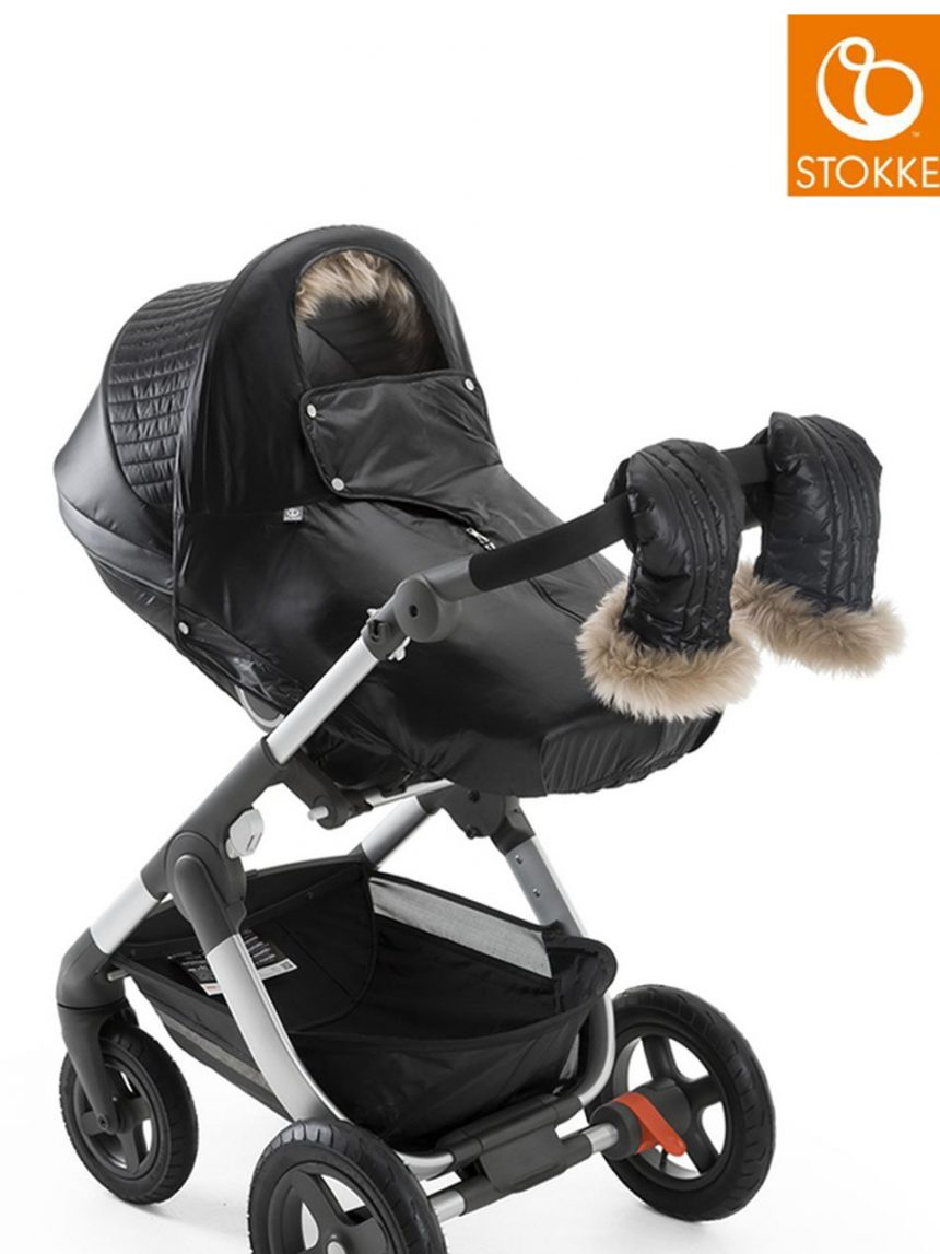Kit de inverno de carrinho stokke® - ônix preto - Stokke