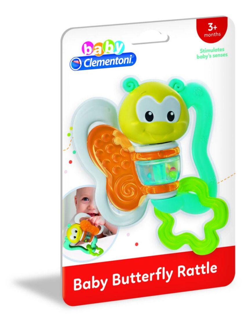 Clementoni bebê - chocalho de borboleta - Clementoni