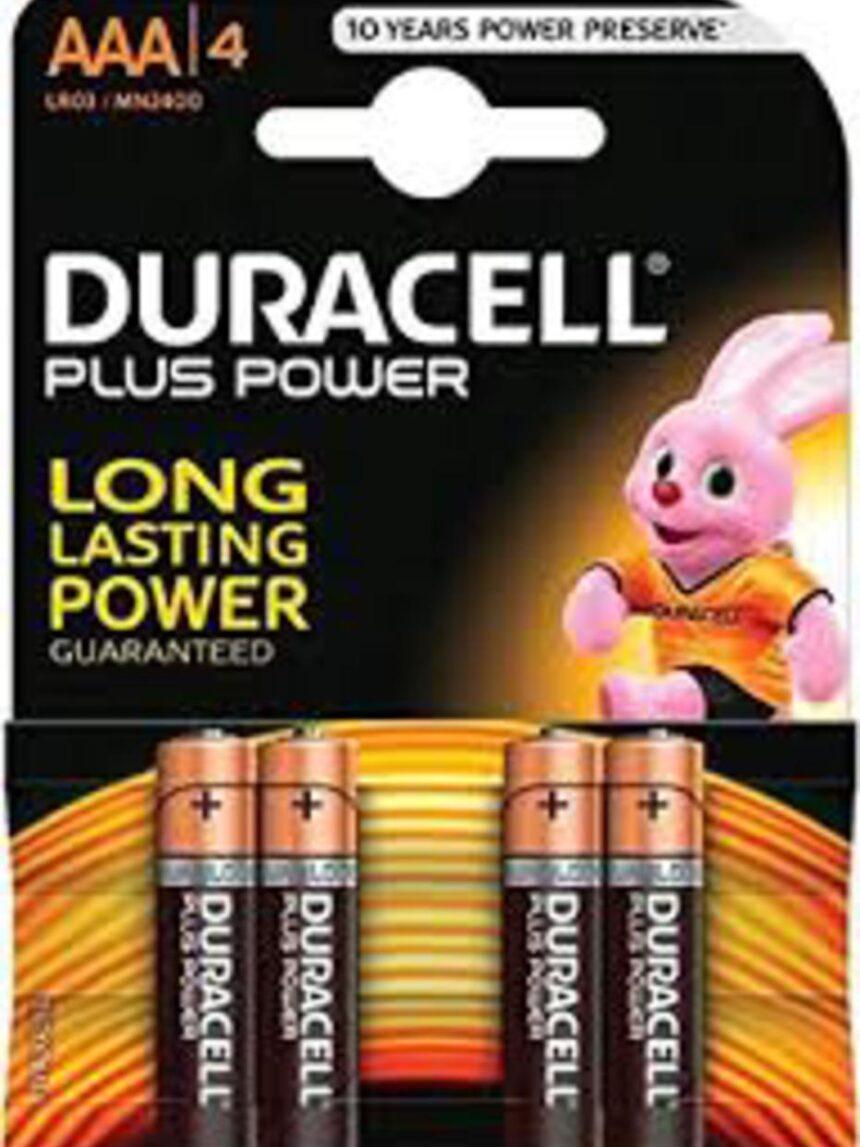 Mais potência aaa b4 - Duracell