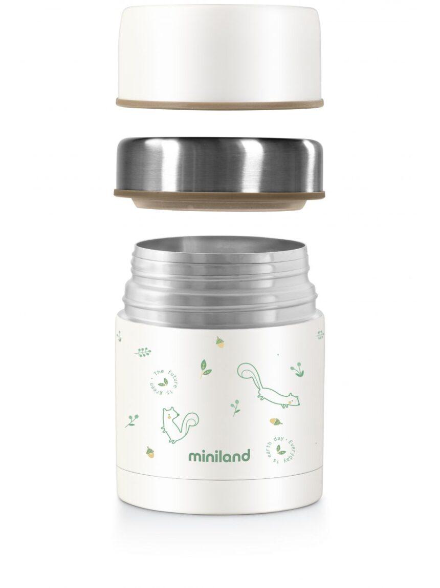 Chip de garrafa térmica de alimentos nature 600ml - Miniland