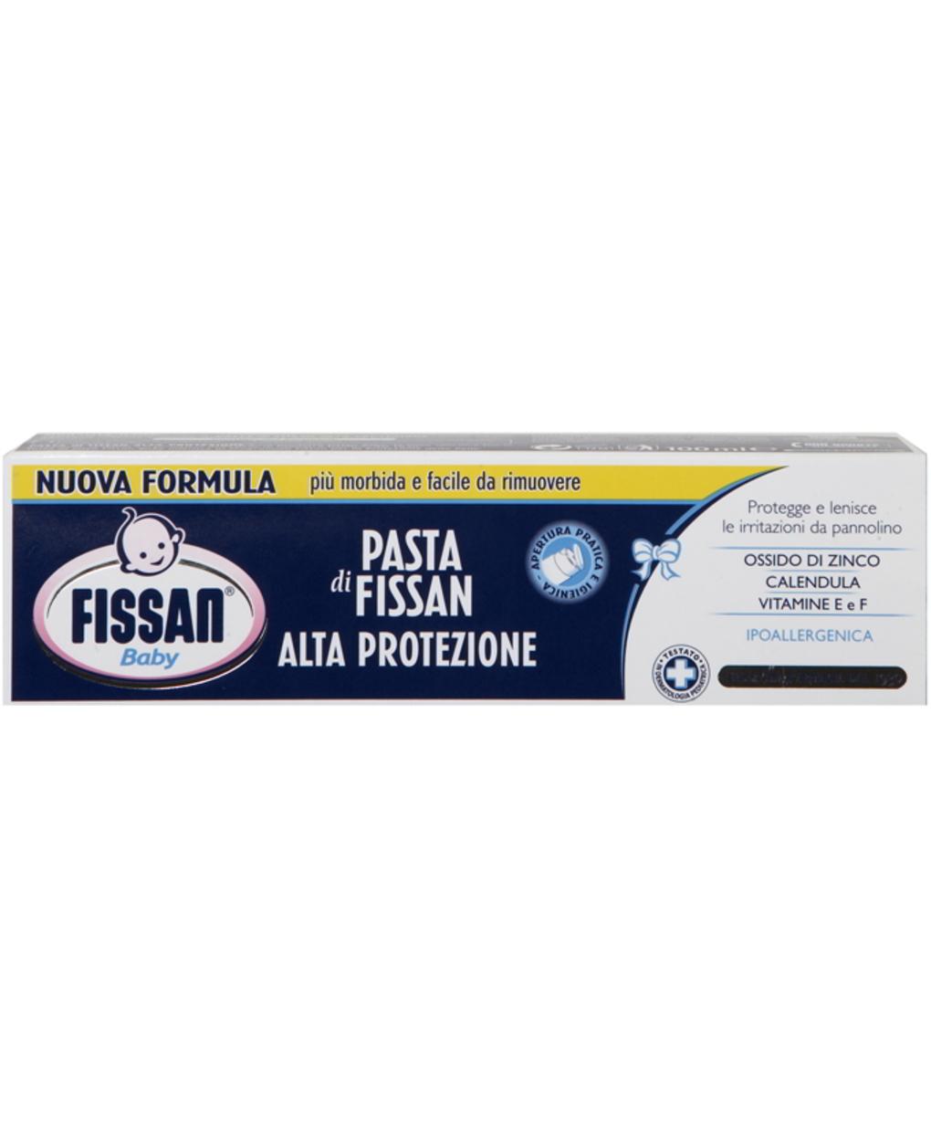 Nova fórmula de pasta de alta proteção - Fissan
