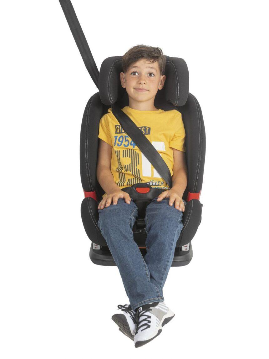 Akita preta cadeira infantil - Chicco