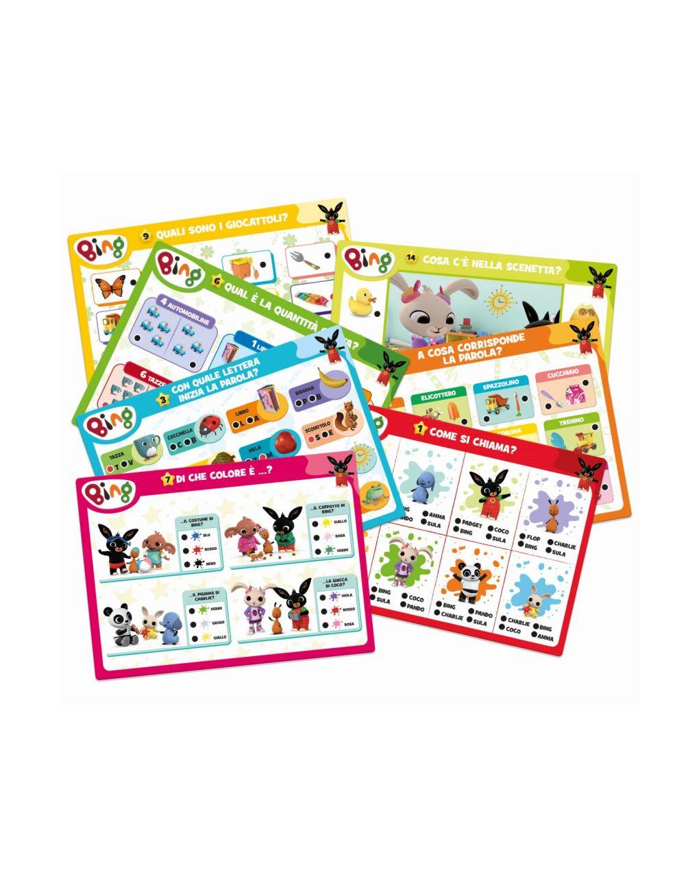Lisciani - bing pen maxi cards - Bing