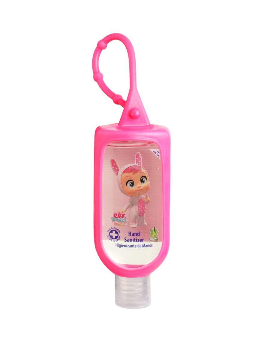 Gel desinfetante para as mãos cry baby 60 ml com 75% vol de álcool com anzol - Cry babies