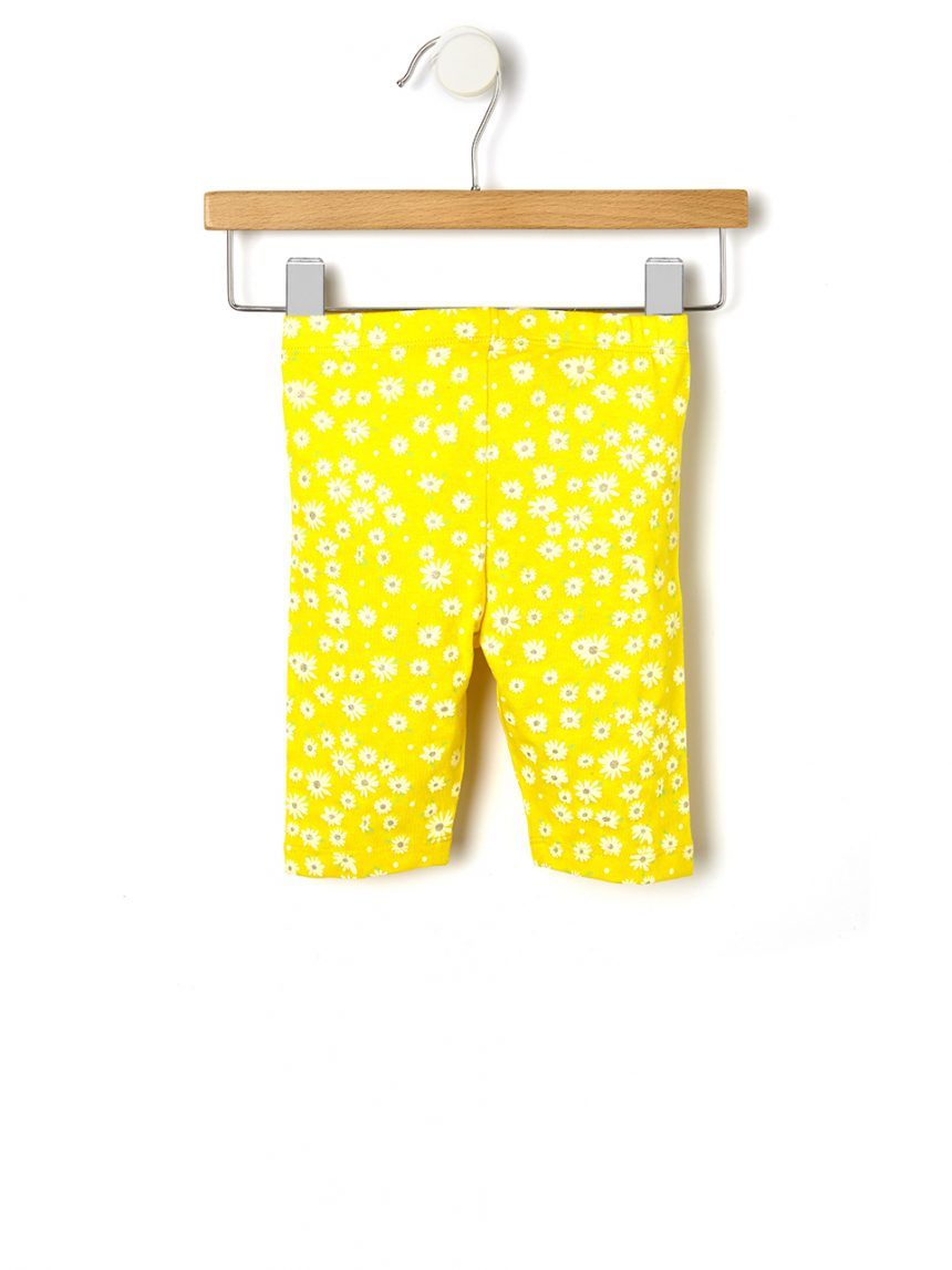 Leggings 3/4 em jersey com estampa allover - Prénatal