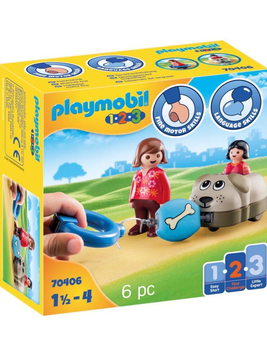 Playmobil - meu cachorrinho 1.2.3 - Playmobil
