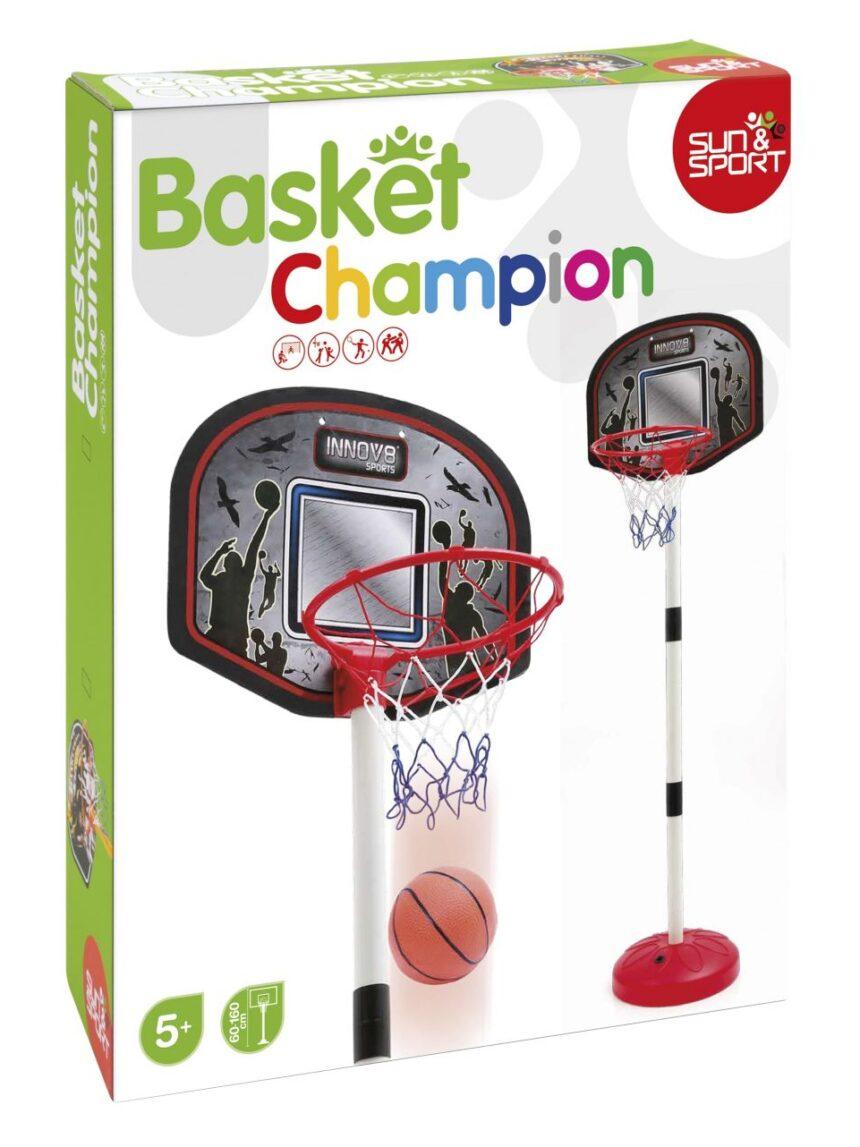 Sol e esporte - basquete de chão de 130 cm - Sun&Sport