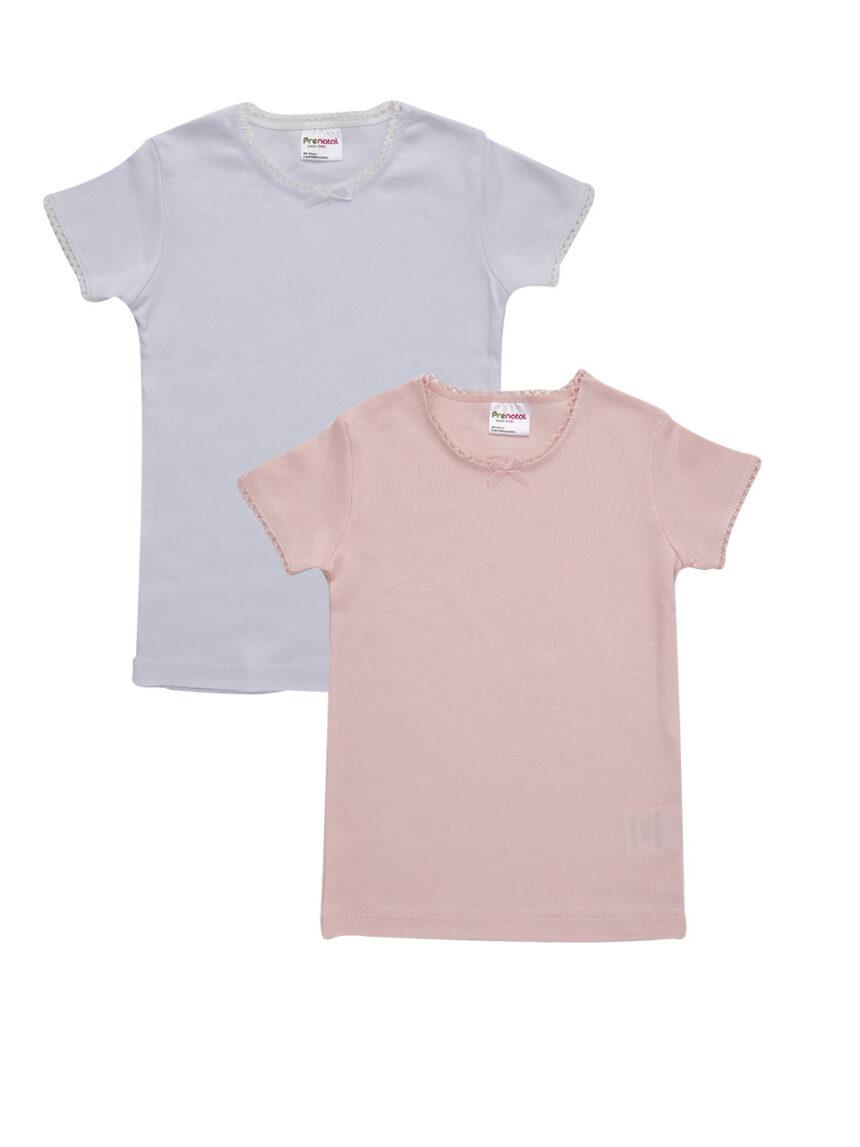 Pacote 2 t-shirt com croquete de bordo - Prénatal