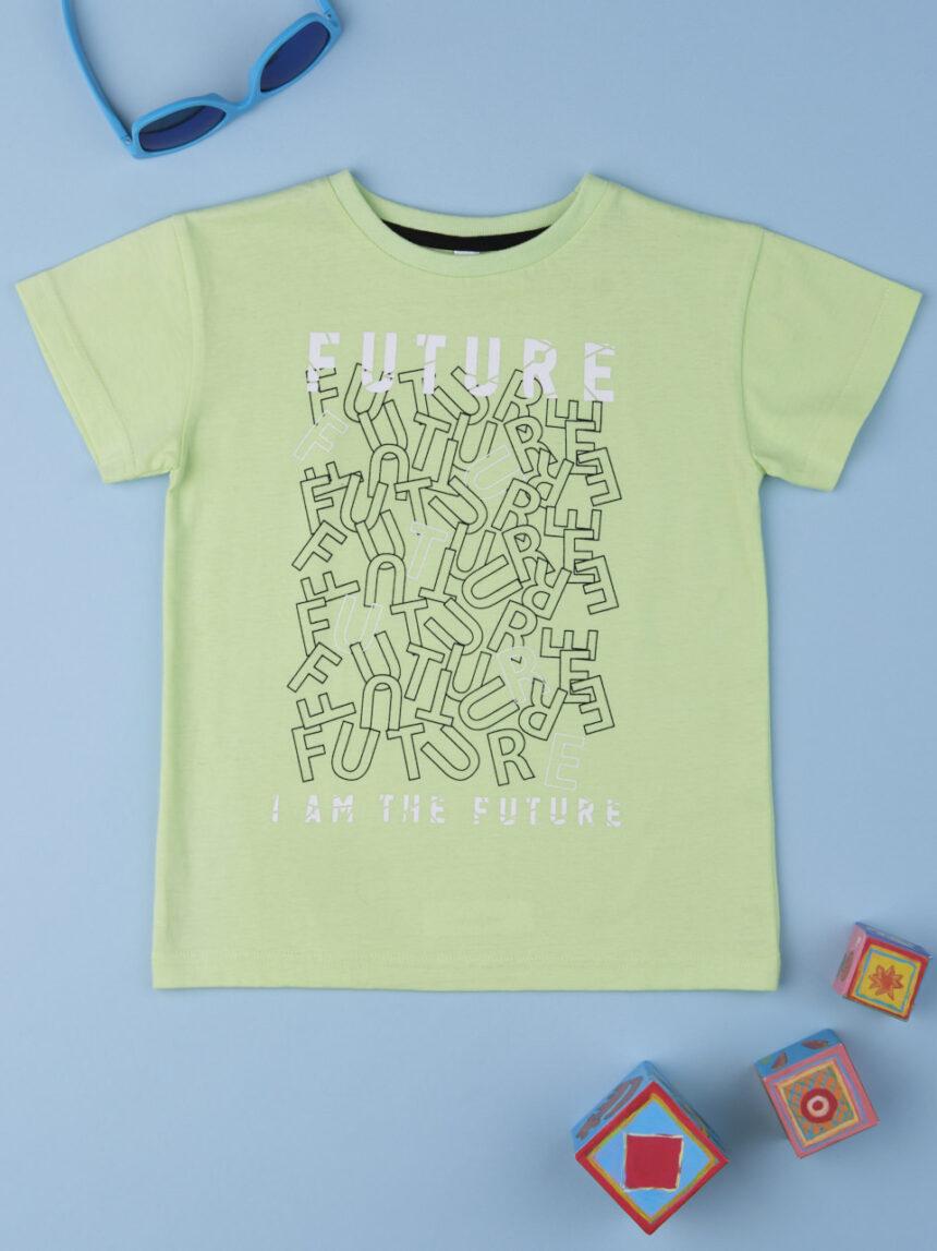 "T-shirt menino ""futuro"" - Prénatal"