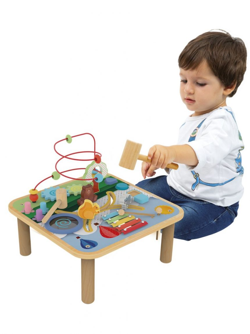 Wood'n play - mesa de jogo multi-atividades - Wood'N'Play