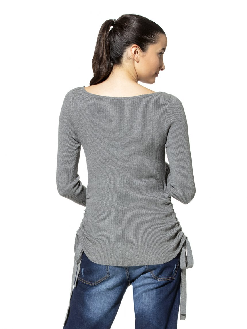Suéter maternidade com atacadores - Prénatal