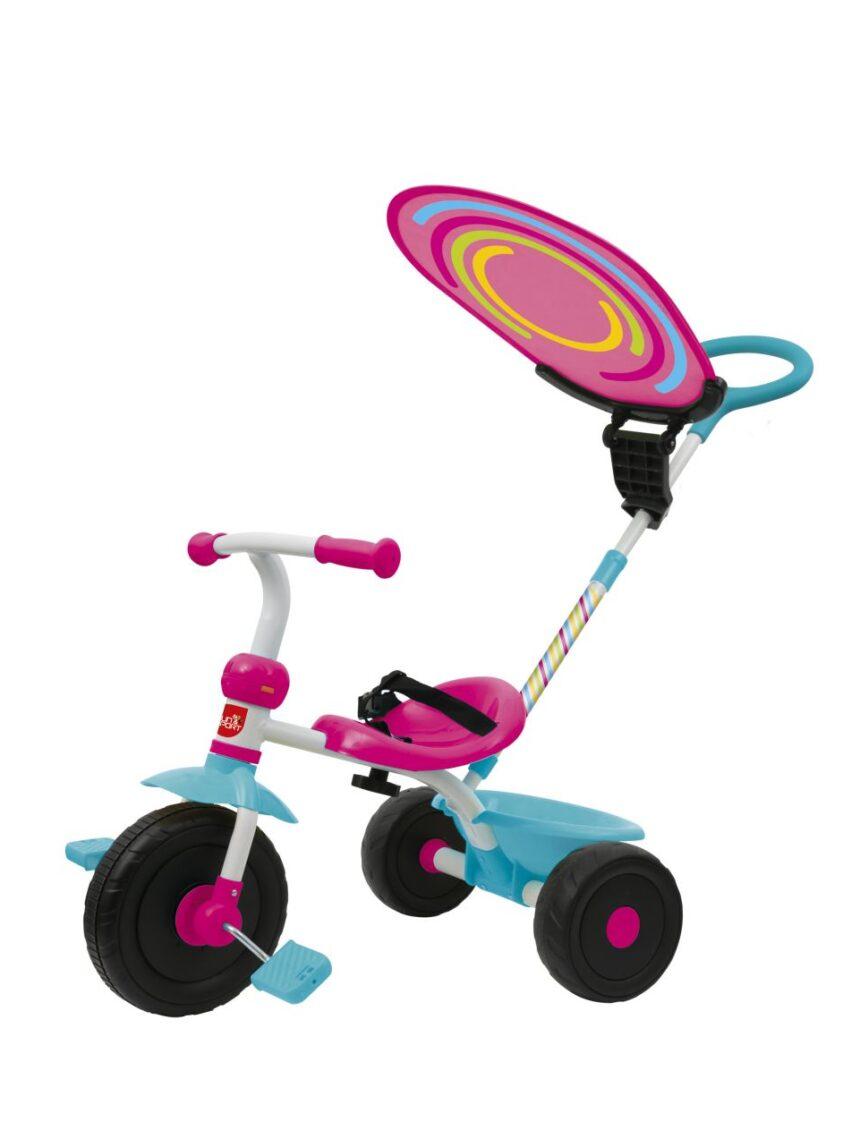 Sol e esporte - garota triciclo triky go - Sun&Sport