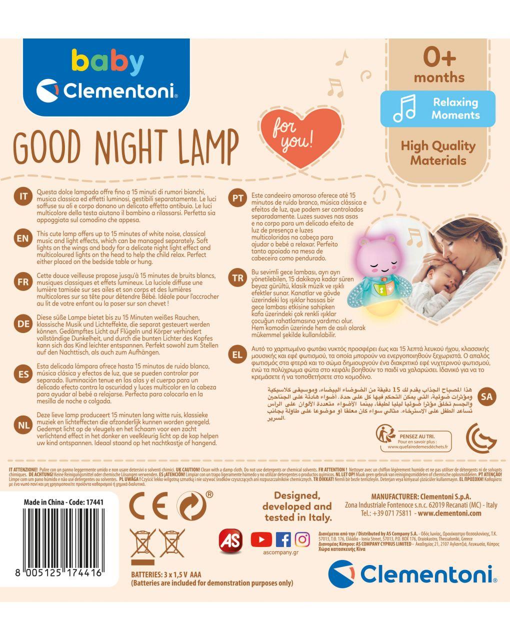 Babyclementoni - abajur - Baby Clementoni