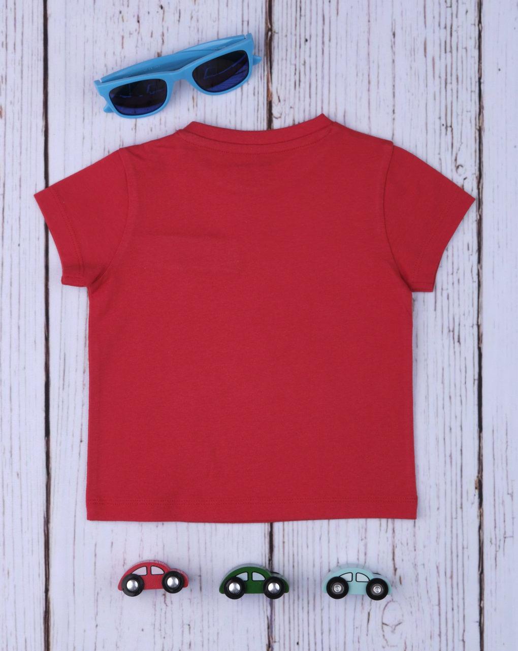 T-shirt menino vermelho - Prénatal