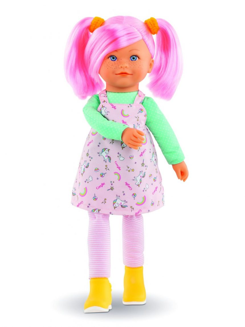 Corolle - boneca arco-íris - praliné - Corolle