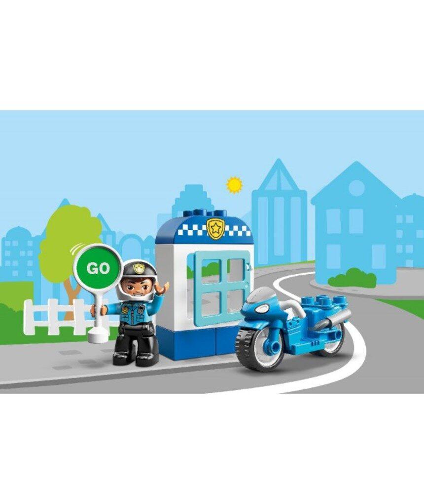Duplo - motocicleta policial - 10900 - LEGO Duplo