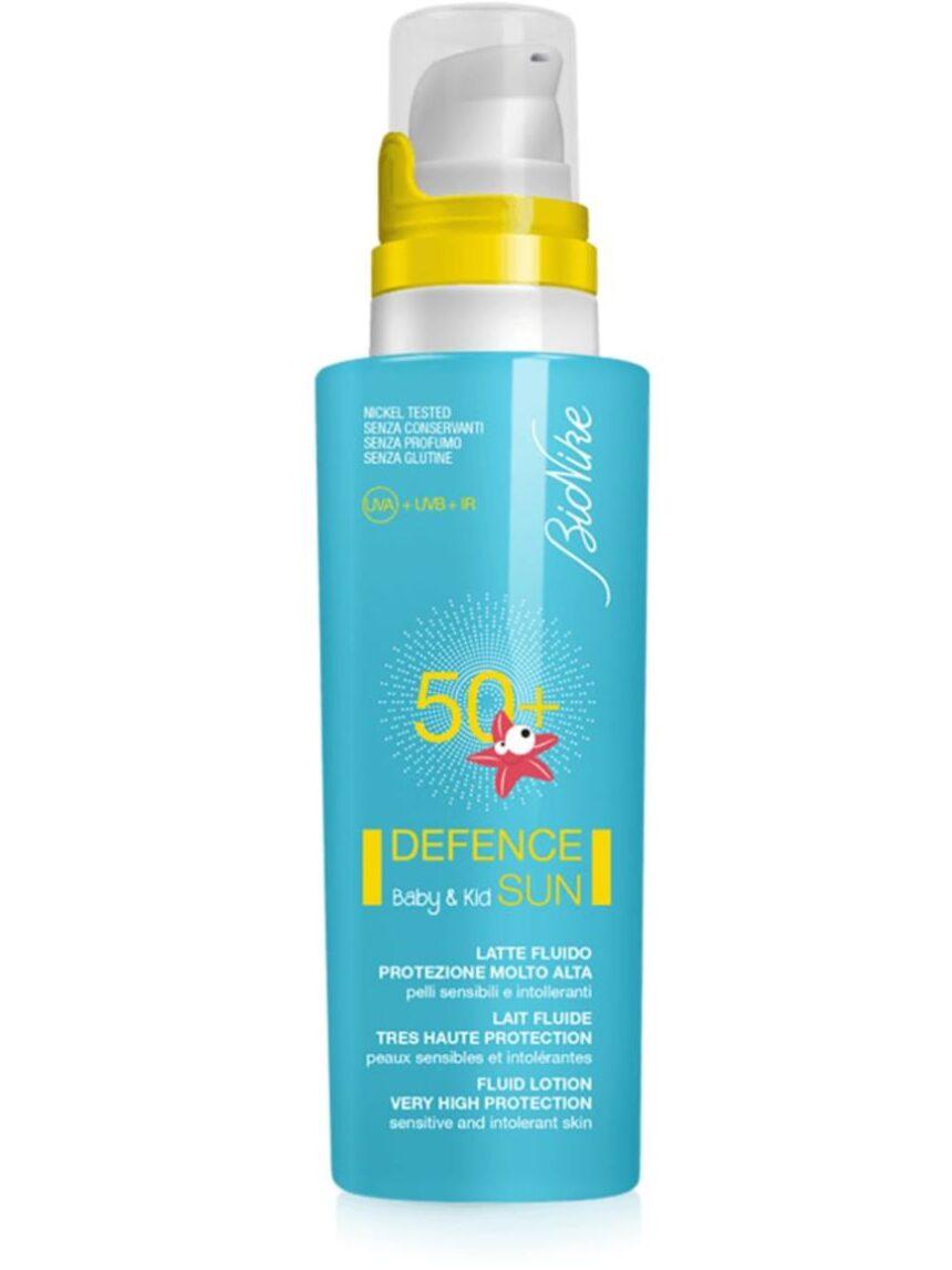 Defesa sol bebê e crianças com leite fluido spf50 + 125 ml - BioNike