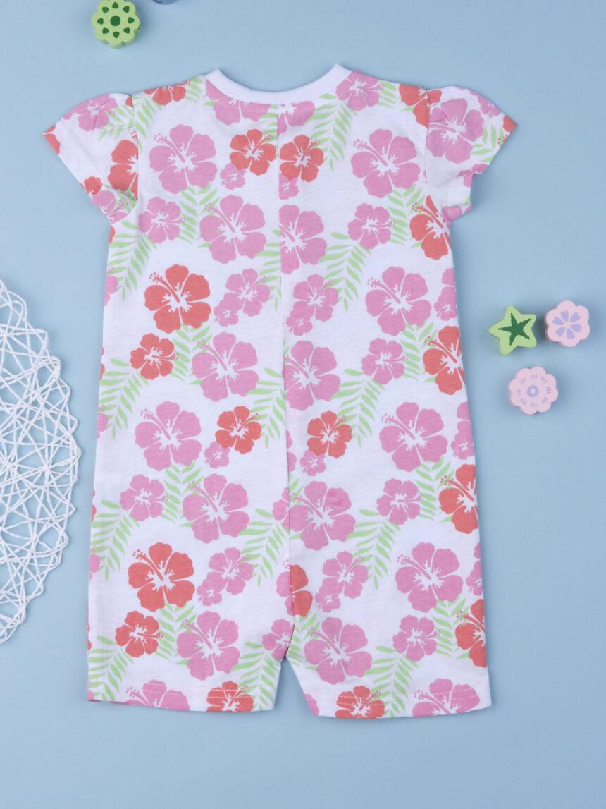 """Pacote de 2 pijamas de menina """"flower power"""" - Prénatal"""