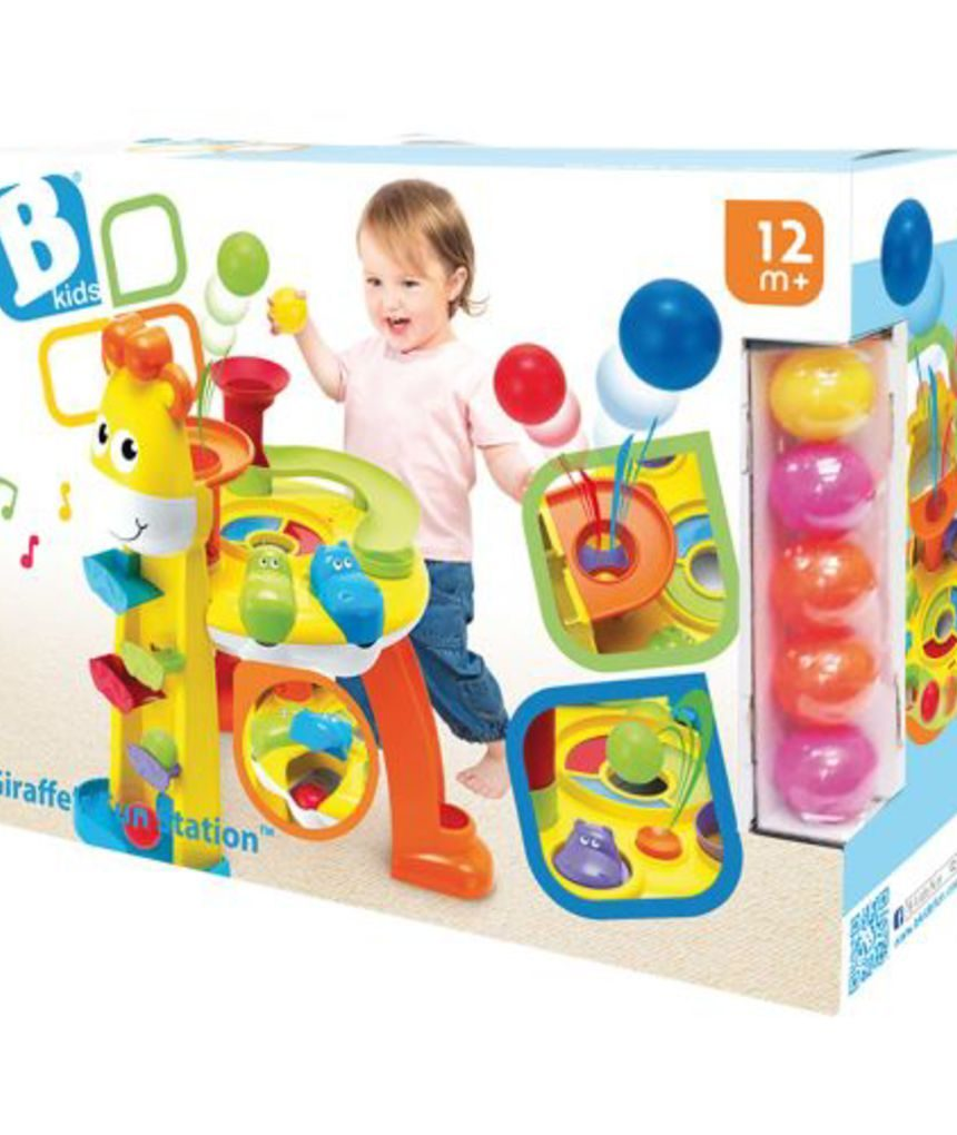 Bkids - centro de atividades de girafas - B-kids