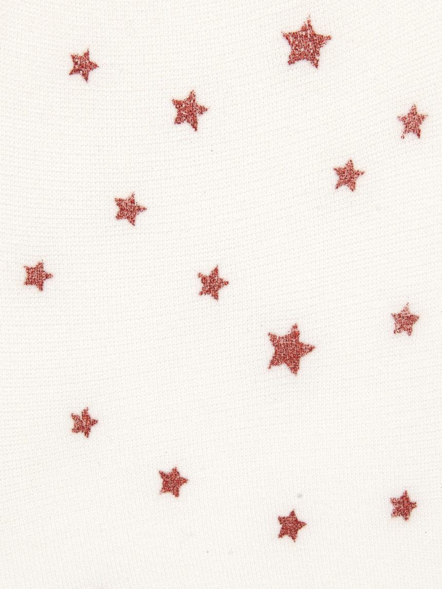 Meias de microfibra com estampa de estrelas - Prénatal