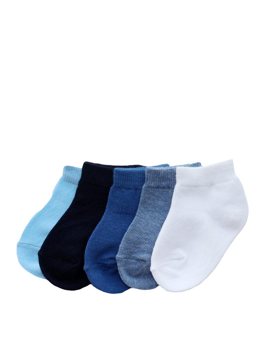 Pacote x 5 meias curtas de algodão - Prénatal