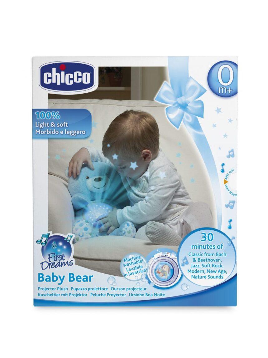 Chicco - boneco bebê urso - Chicco