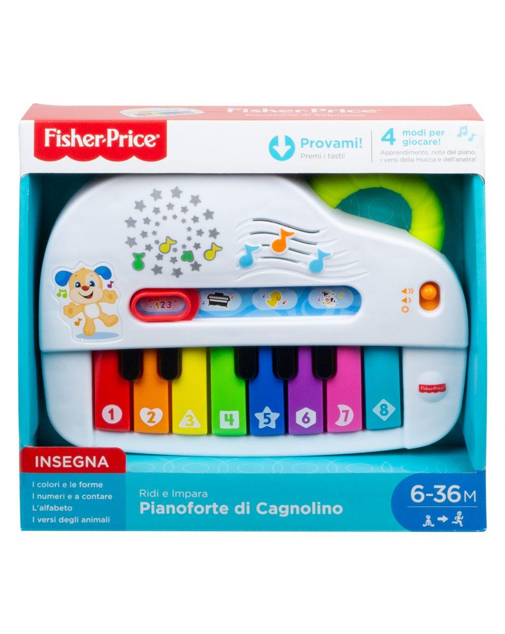 Fisher price - cachorrinho piano - Fisher-Price