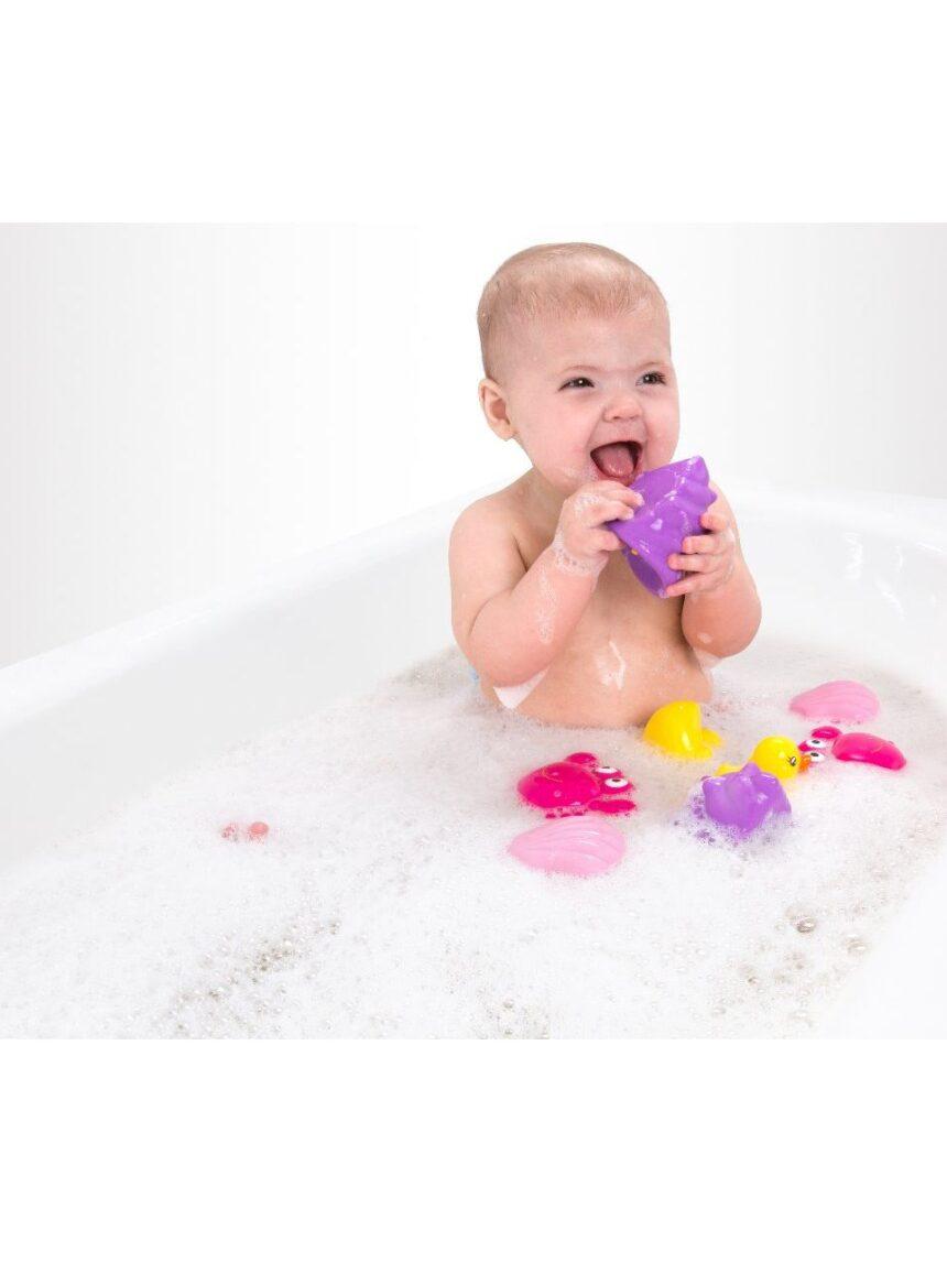 Playgro - squirtees da hora do banho (rosa) - Playgro