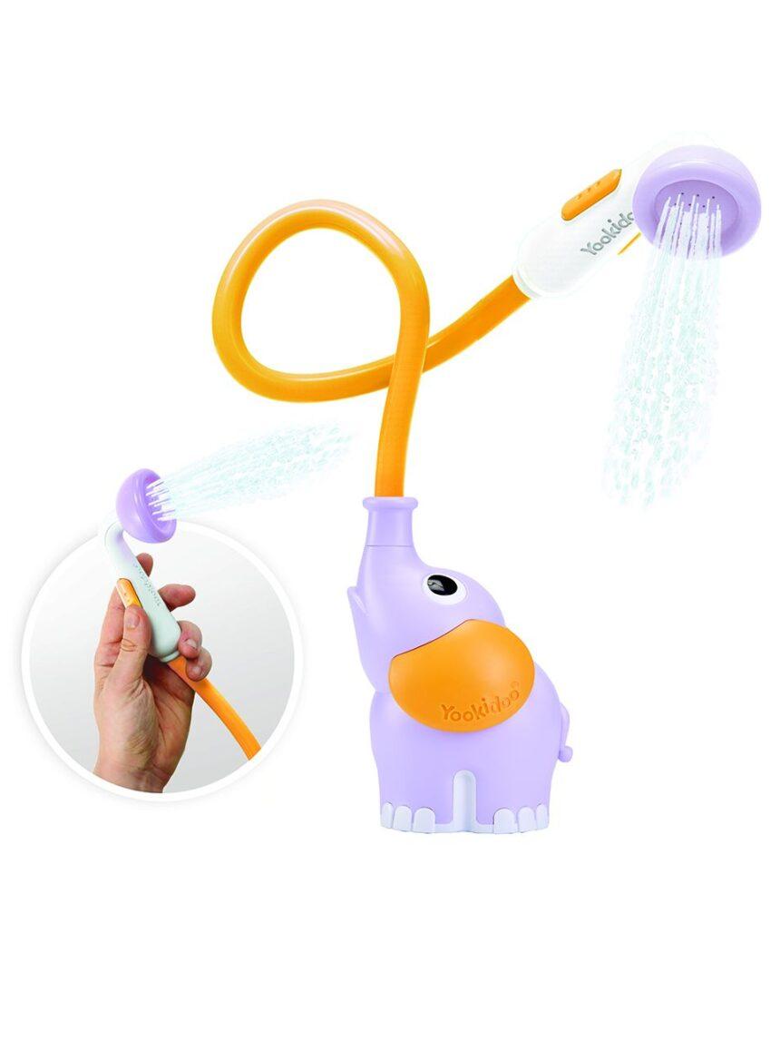 Yookidoo - chá de bebê de elefante - roxo - Yookidoo